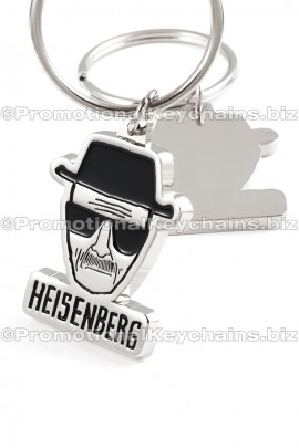 CustomKeychainsArtisanSeries™CustomMadeMetal-BreakingBadHeisenberg