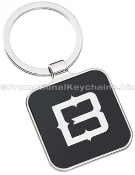BlackSeriesSquareEngravedMetalKeychainFrontView