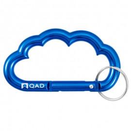 CloudShapedCarabinerKeychain