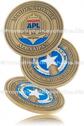 Premium Custom Made Challenge Coins | PromotionalKeychains biz