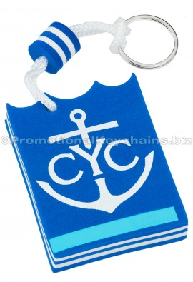CustomShapedFloatingColorFoamKeyChains