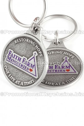 CustomKeychainsCastinSolidPewter-RoundWithColorFill
