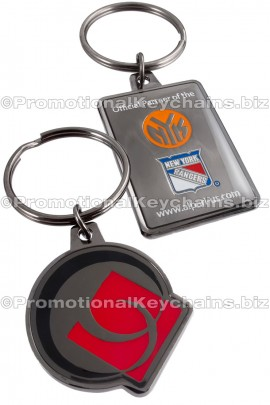 CustomKeychainsArtisanBlackSeries™CustomMetalKeychainforAlpari-US