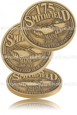 CustomMadeChallengeCoins-AntiquedPlating