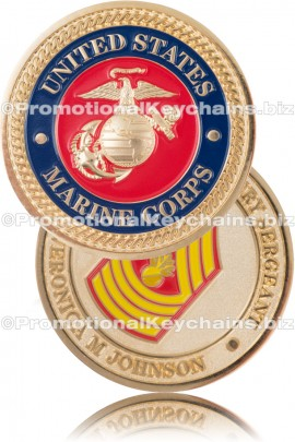 MilitaryCustomChallengeCoinMarineCommemorative