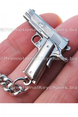 CustomKeychainsRepliCastProductSeries3DCastMetal-MiniKimberGunReplica