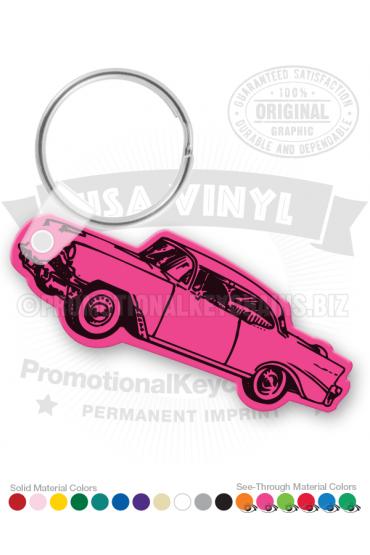 56 Chevy Car Vinyl Keychain PK3183