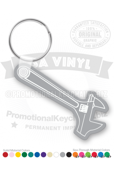 Adjustable Wrench Vinyl Keychain PK5902