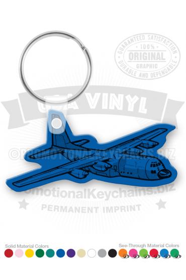Airplane Vinyl Keychain PK3312