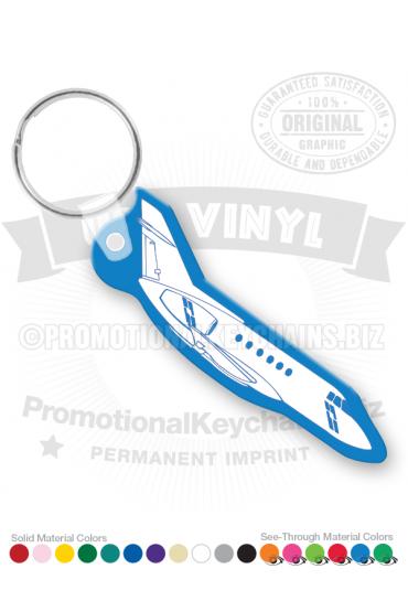 Airplane Vinyl Keychain PK7355