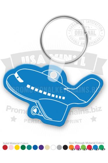 Airplane Vinyl Keychain PK7732