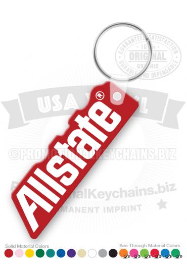 Allstate Vinyl Keychain PK7642