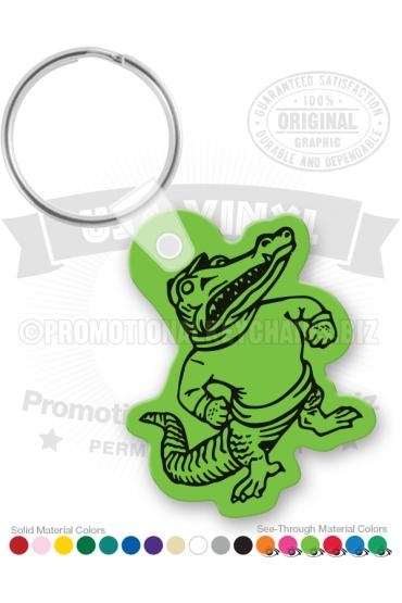 Alligator Vinyl Keychain PK8199