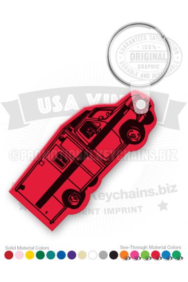 Ambulance Vinyl Keychain PK7055