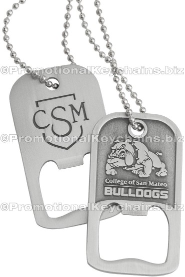 Bottle Opener Dog Tags