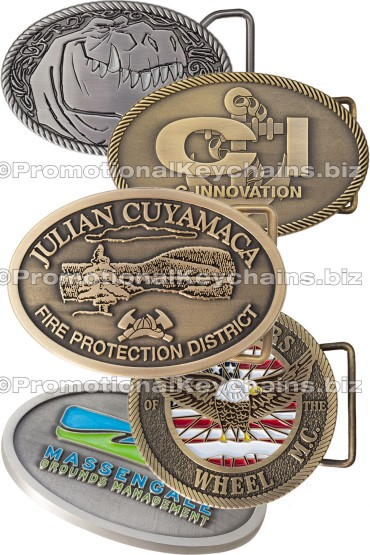 Custom Belt Buckles Antiqued