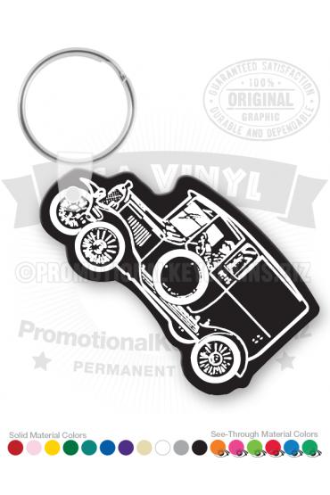 Antique Car Vinyl Keychain PK5360