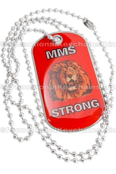 Full Color Stainless Steel Dog Tags