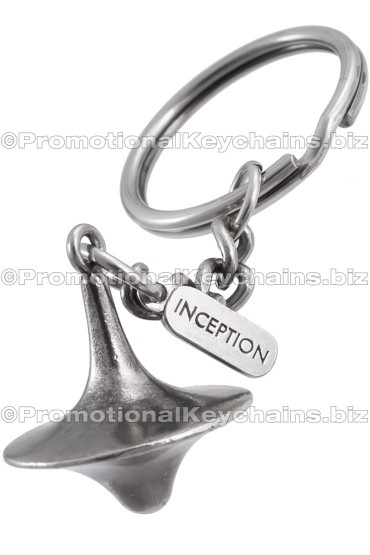 Custom Keychains RepliCast Product Series 3D Cast Metal - Inception Top