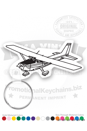 Airplane Vinyl Keychain PK5547