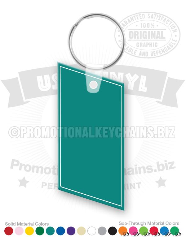 Parallelogram Vinyl Keychain PK2175 C2