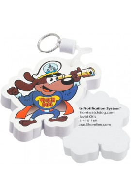 CustomShapedFloatingKeyChainsFullColorPrintedFoam