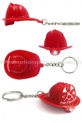 FiremanHatLEDKeychainFlashlight