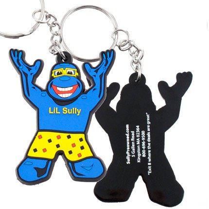 Custom Made PVC Color Keychain Lil Sully 5 Color Gorilla