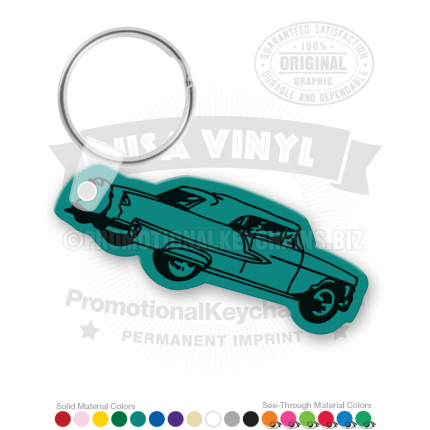 55 Chevy Car Vinyl Keychain PK3184