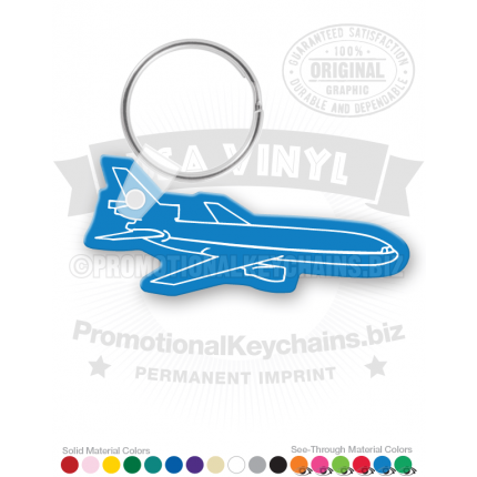 Airplane Vinyl Keychain PK5314