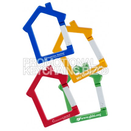 House Shaped Carabiner Keychain
