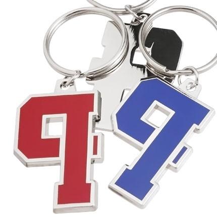 Custom Keychains Boulevard Series™ Custom Metal With Color Hard Enamel