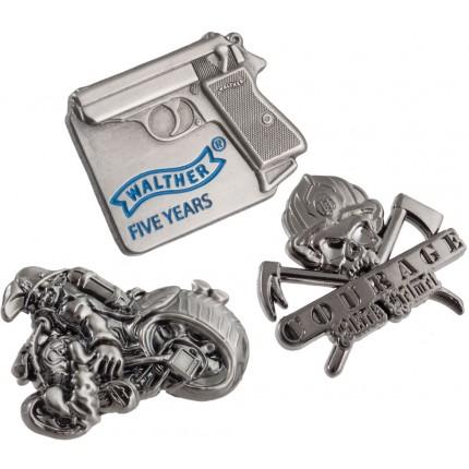 3D Custom Shaped Lapel Pins
