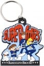 Custom Made Color Keychain from PVC Rubber -