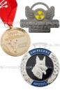 Custom Made Awards Medals Polished