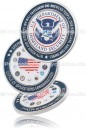 Custom Ordered Challenge Coin with Full Color Die Struck