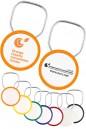 Logo Ring Thinline 2 Sided Keychains