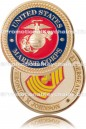 Military Custom Challenge Coin Marine Commemorative