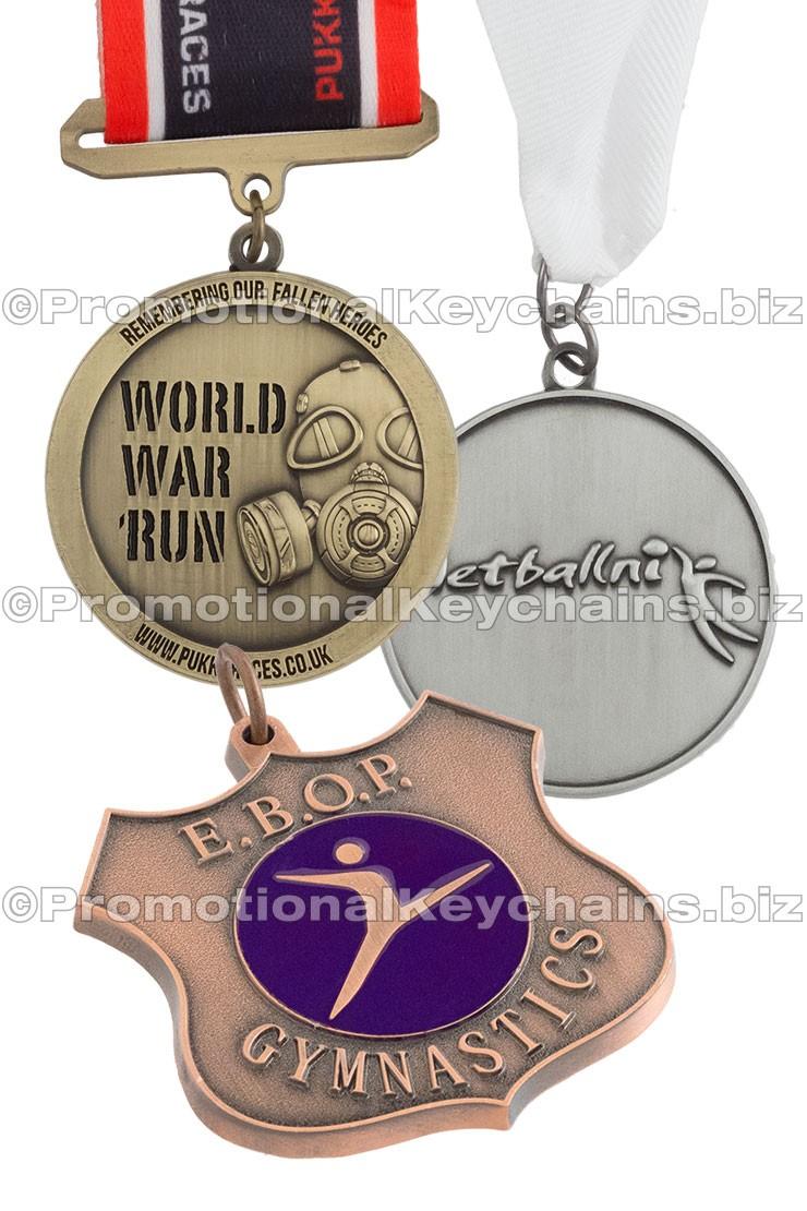 Custom Medals Antiqued
