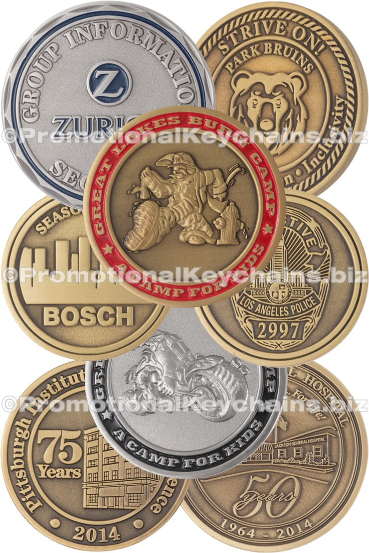 Custom Challenge Coins Antiqued