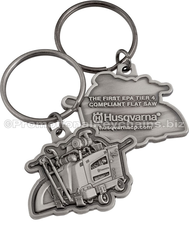 Custom Keychains CameoCast 3D Metal Relief