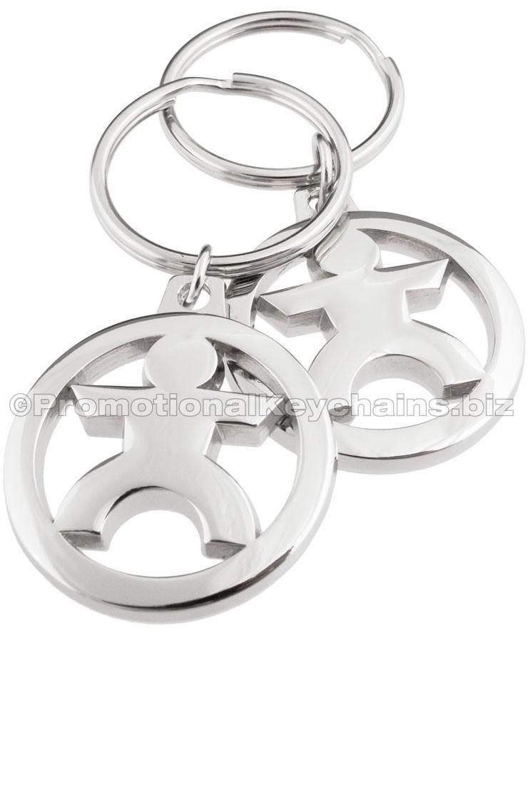 MasterCast™ Custom Designed Metal Keychain