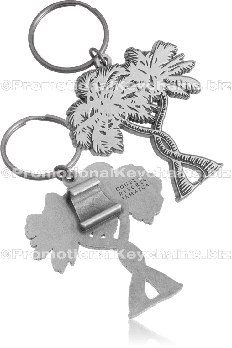 Custom Shaped Claw Style Bottle Opener Keychains