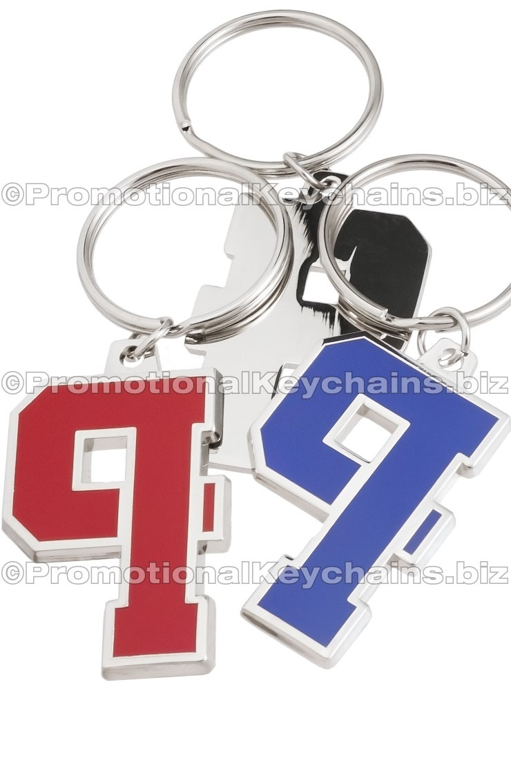 Custom Keychains Boulevard Series™ Custom Metal With Color Hard Enamel