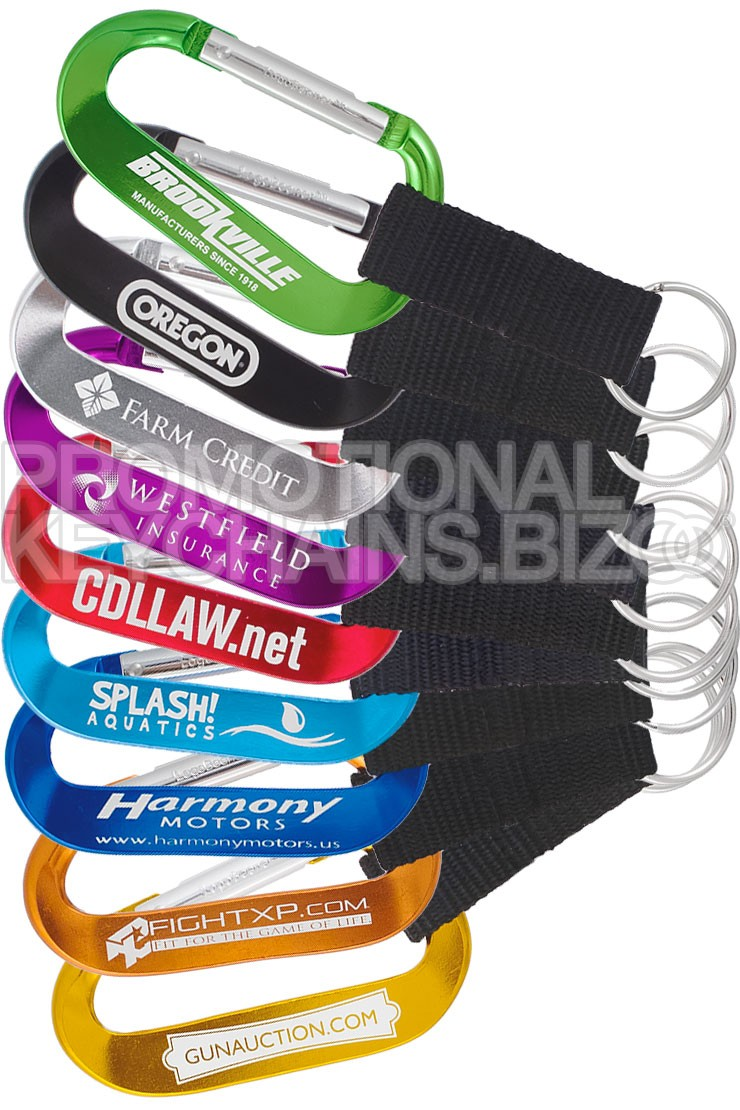 80MM and 70MM XTREME Carabiners Plus Strap