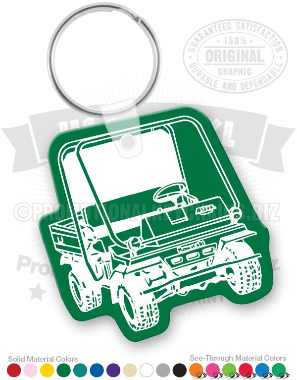 golf cart vinyl keychain pk7856. Black Bedroom Furniture Sets. Home Design Ideas