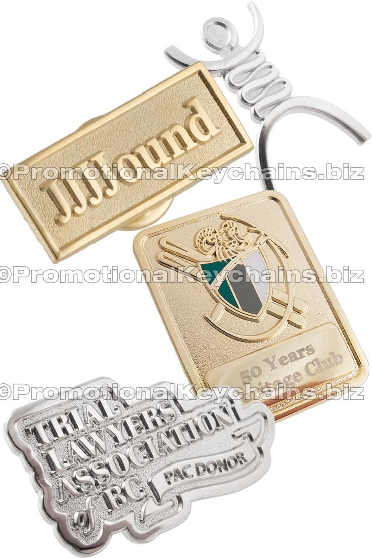 Boulevard Series Custom Lapel Pins Polished + Matte