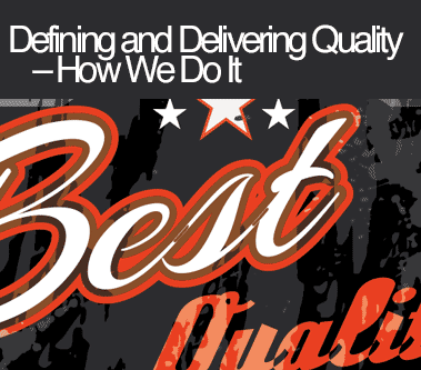 Defining Quality Blog Post
