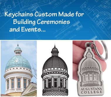 Keychains Made for Buildings and Commemorations Blog Post