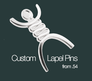 Custom Shaped Lapel Pins from 54 Cents